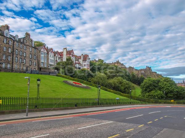 Edimburgo castelo escócia arquitetura Foto stock © claudiodivizia