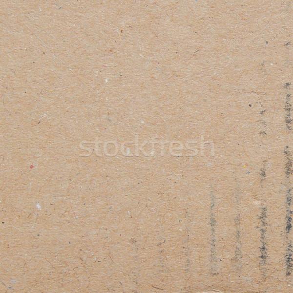 Corrugated cardboard background Stock photo © claudiodivizia