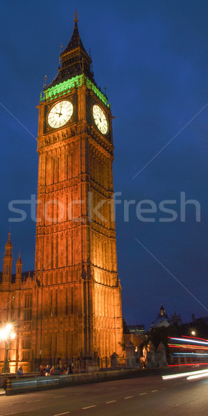 Big Ben case parlamento westminster palazzo Londra Foto d'archivio © claudiodivizia