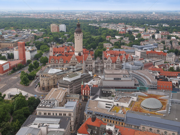 Germania 14 2014 città skyline Foto d'archivio © claudiodivizia