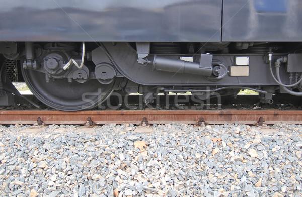поезд железная дорога железная дорога масса транзит общественном транспорте Сток-фото © claudiodivizia