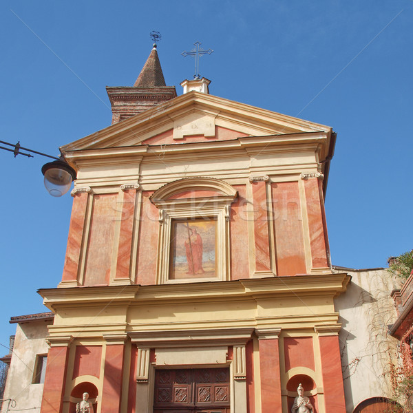 Santa Croce church, Rivoli Stock photo © claudiodivizia