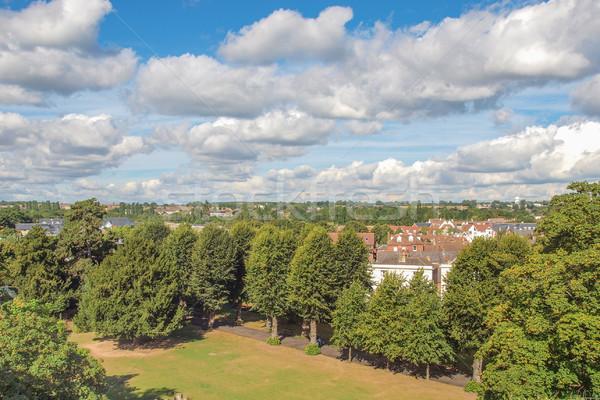 şehir İngiltere Avrupa panorama görmek sendika Stok fotoğraf © claudiodivizia