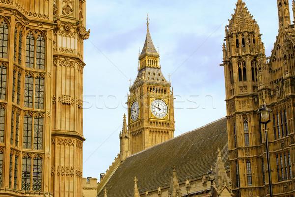 ビッグベン ロンドン 住宅 議会 ウェストミンスター 宮殿 ストックフォト © claudiodivizia
