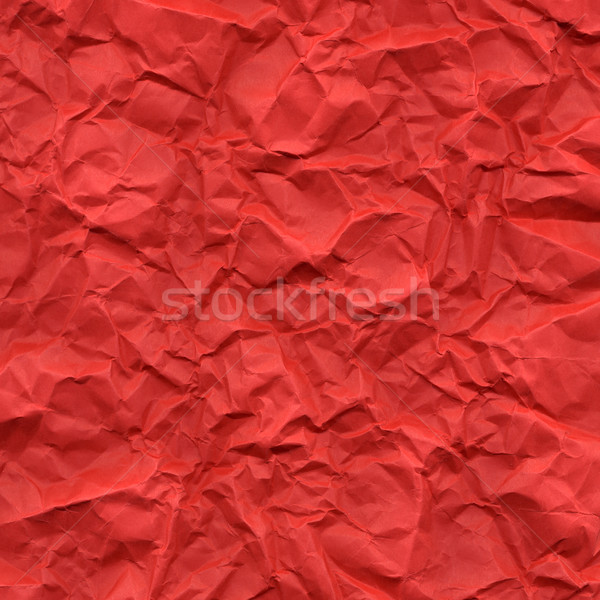 Red rippled paper Stock photo © claudiodivizia