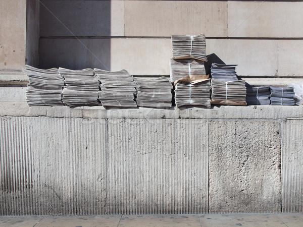 Free Newspapers Stock photo © claudiodivizia
