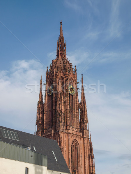 Frankfurt Cathedral Stock photo © claudiodivizia