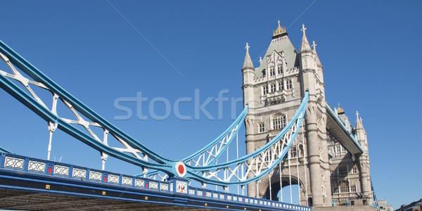 Tower Bridge Londra fiume thames acqua Europa Foto d'archivio © claudiodivizia