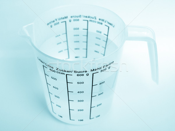 Stock photo: Measuring cup