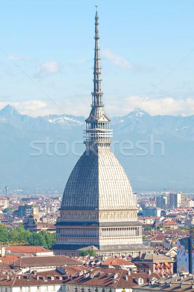Italië stad torino bergen Stockfoto © claudiodivizia