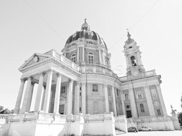 базилика Италия древних барокко аббатство Сток-фото © claudiodivizia
