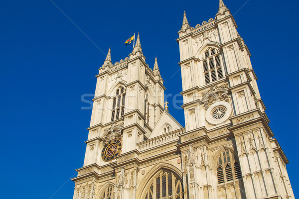 Westminster abbaye église Londres vintage Europe Photo stock © claudiodivizia