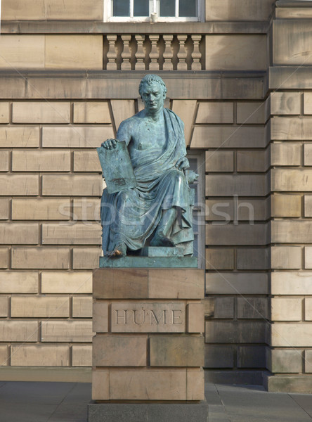 David Hume statue Stock photo © claudiodivizia