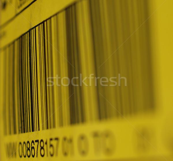 Barkod detay ürün kimlik satın almak nesne Stok fotoğraf © claudiodivizia