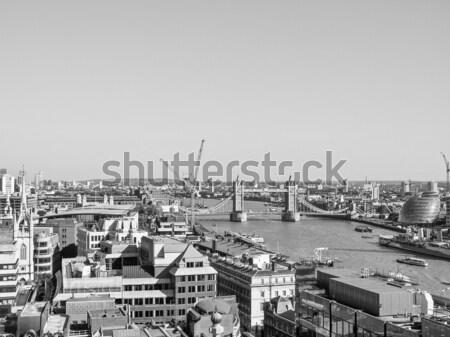 Tower Bridge Londra nehir thames su mimari Stok fotoğraf © claudiodivizia
