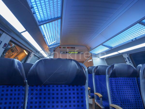 German regional train Stock photo © claudiodivizia