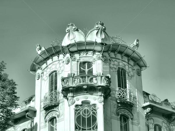 Casa Fleur, Turin Stock photo © claudiodivizia
