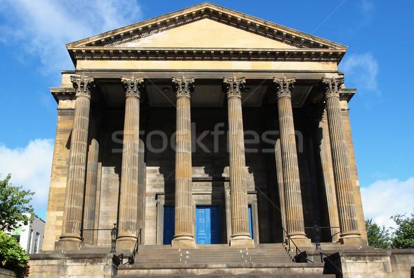 Wellington kilise Glasgow batı son İskoçya Stok fotoğraf © claudiodivizia