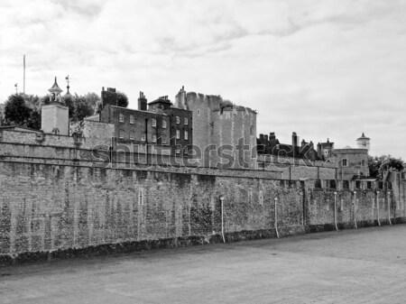 Torre Londra medievale castello carcere muro Foto d'archivio © claudiodivizia