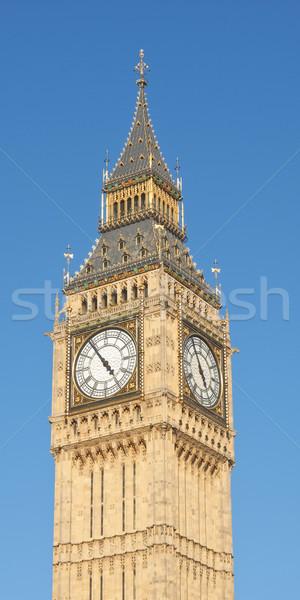 ビッグベン 住宅 議会 ウェストミンスター 宮殿 ロンドン ストックフォト © claudiodivizia