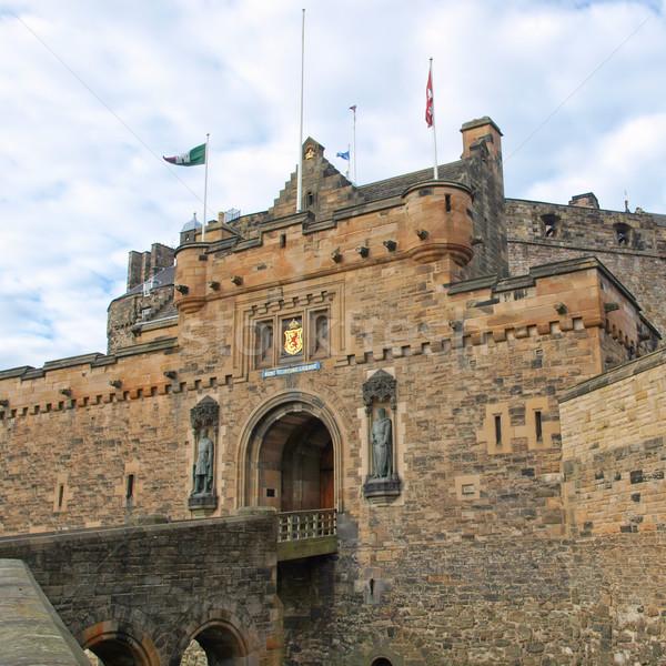 エディンバラ 画像 城 スコットランド グレート·ブリテン イギリス ストックフォト © claudiodivizia
