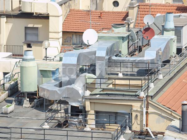 ısıtma havalandırma klima makine Stok fotoğraf © claudiodivizia