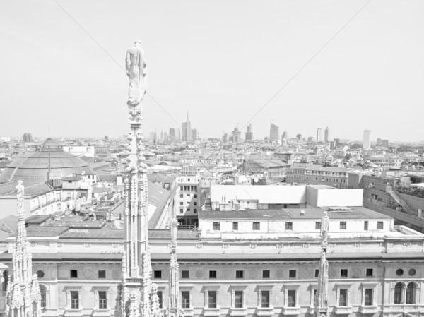 Милан Италия мнение город здании Сток-фото © claudiodivizia