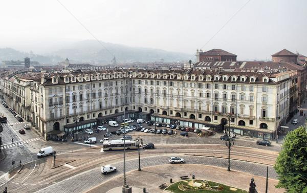 Piazza Castello, Turin Stock photo © claudiodivizia