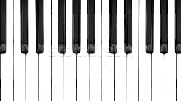 Music keyboard Stock photo © claudiodivizia