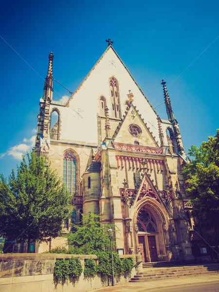 église Allemagne courant emplacement architecture Europe Photo stock © claudiodivizia