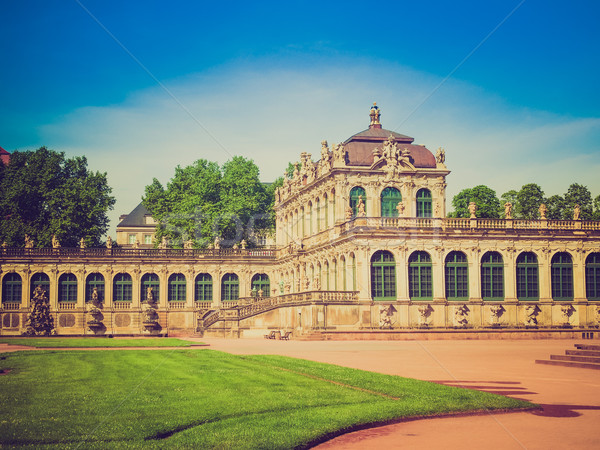 Dresden Zwinger Stock photo © claudiodivizia