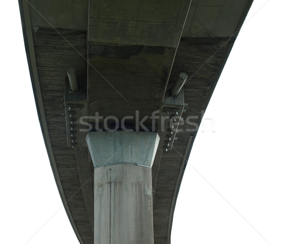 Stock photo: Motorway bridge