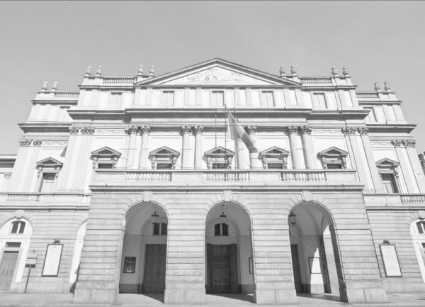 Milaan theater Italië muziek kunst theater Stockfoto © claudiodivizia