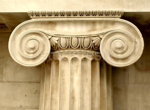 Ionica dettaglio antica Grecia Foto d'archivio © claudiodivizia