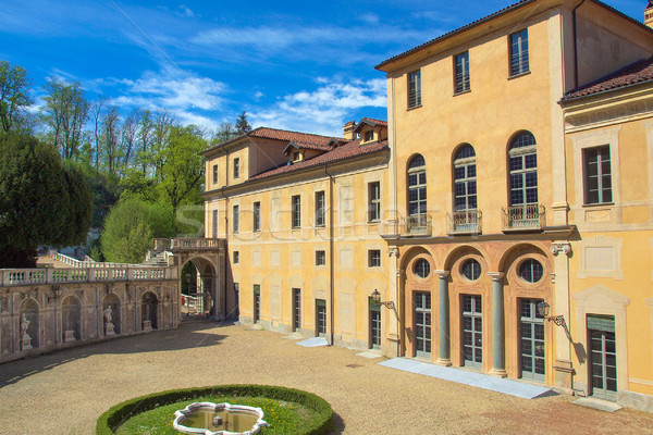 Villa Italie architecture vintage anciens Photo stock © claudiodivizia