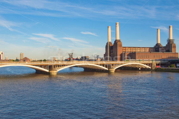 Battersea Powerstation London Stock photo © claudiodivizia