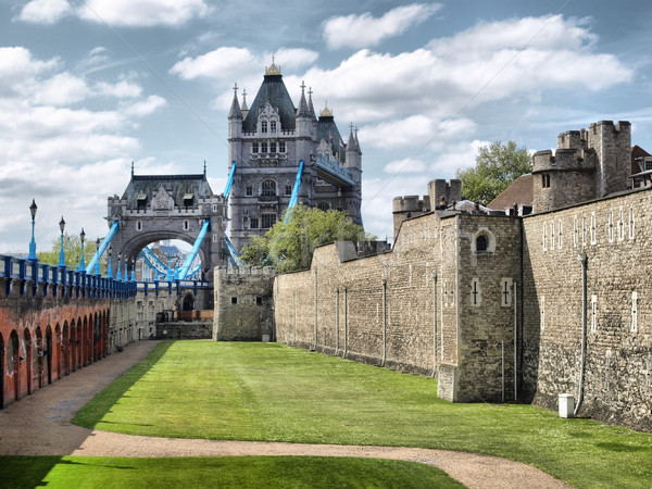 塔 ロンドン 中世 城 刑務所 高い ストックフォト © claudiodivizia