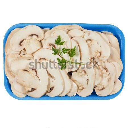 Champignon mushroom isolated Stock photo © claudiodivizia