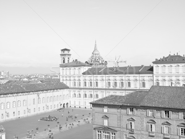 Piazza Castello, Turin Stock photo © claudiodivizia