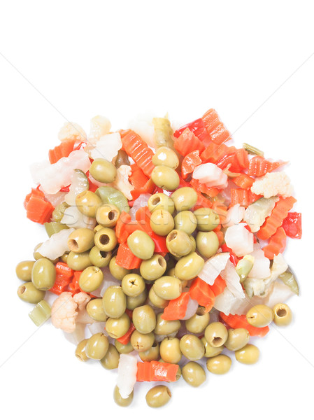 Mixed vegetables Stock photo © claudiodivizia