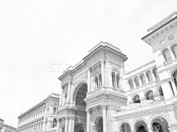 Galleria Vittorio Emanuele II, Milan Stock photo © claudiodivizia
