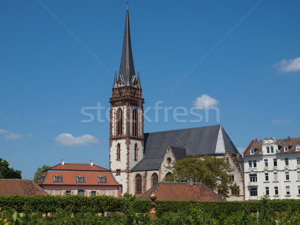St Elizabeth church in Darmstadt Stock photo © claudiodivizia