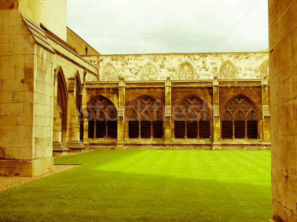 Retro looking Westminster Abbey Stock photo © claudiodivizia