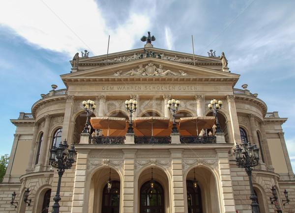 Francoforte sul Meno vecchio Opera casa principale Foto d'archivio © claudiodivizia