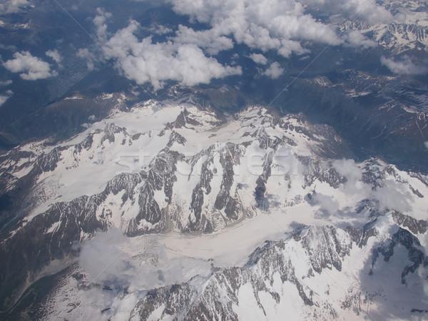 Альпы ледник гор небе природы Сток-фото © claudiodivizia