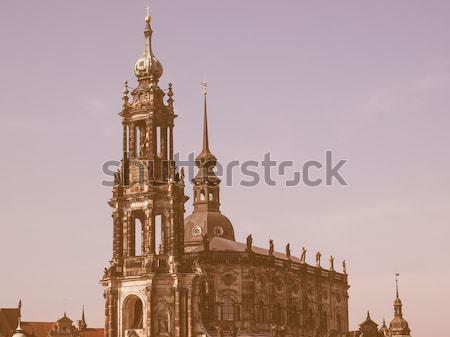 Dresda cattedrale Germania Foto d'archivio © claudiodivizia