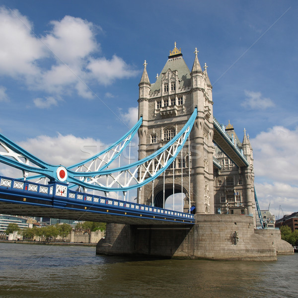 Tower Bridge Londres rio europa torre Foto stock © claudiodivizia