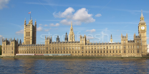 Houses of Parliament panorama Stock photo © claudiodivizia