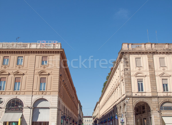 Via Roma Turin Stock photo © claudiodivizia