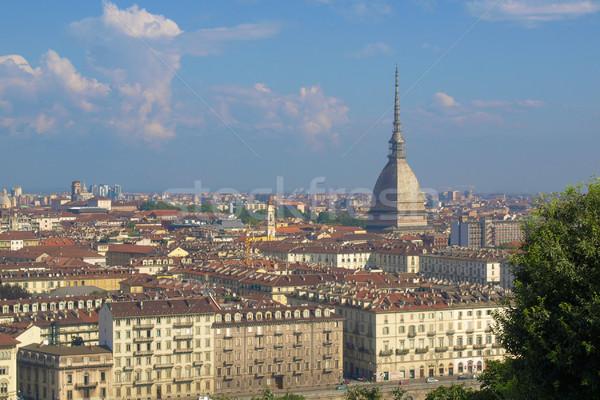 Turin view Stock photo © claudiodivizia
